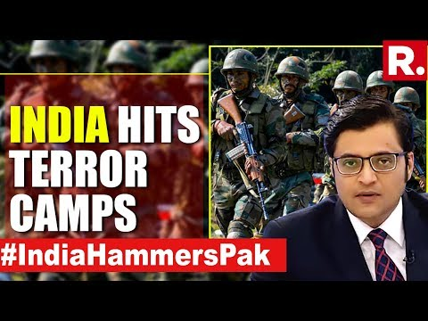 India Strikes Pak Terror Again | The Debate With Arnab Goswami