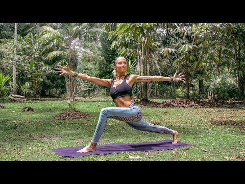 yoga-for-digestion-♥-effective-workout-for-belly-fat-|-amazon-jungle