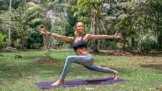 Yoga For Digestion ♥ Effective Workout For Belly Fat | Amazon Jungle
