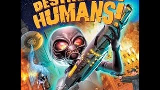 Destroy All Humans| Crypto the alien| part 1