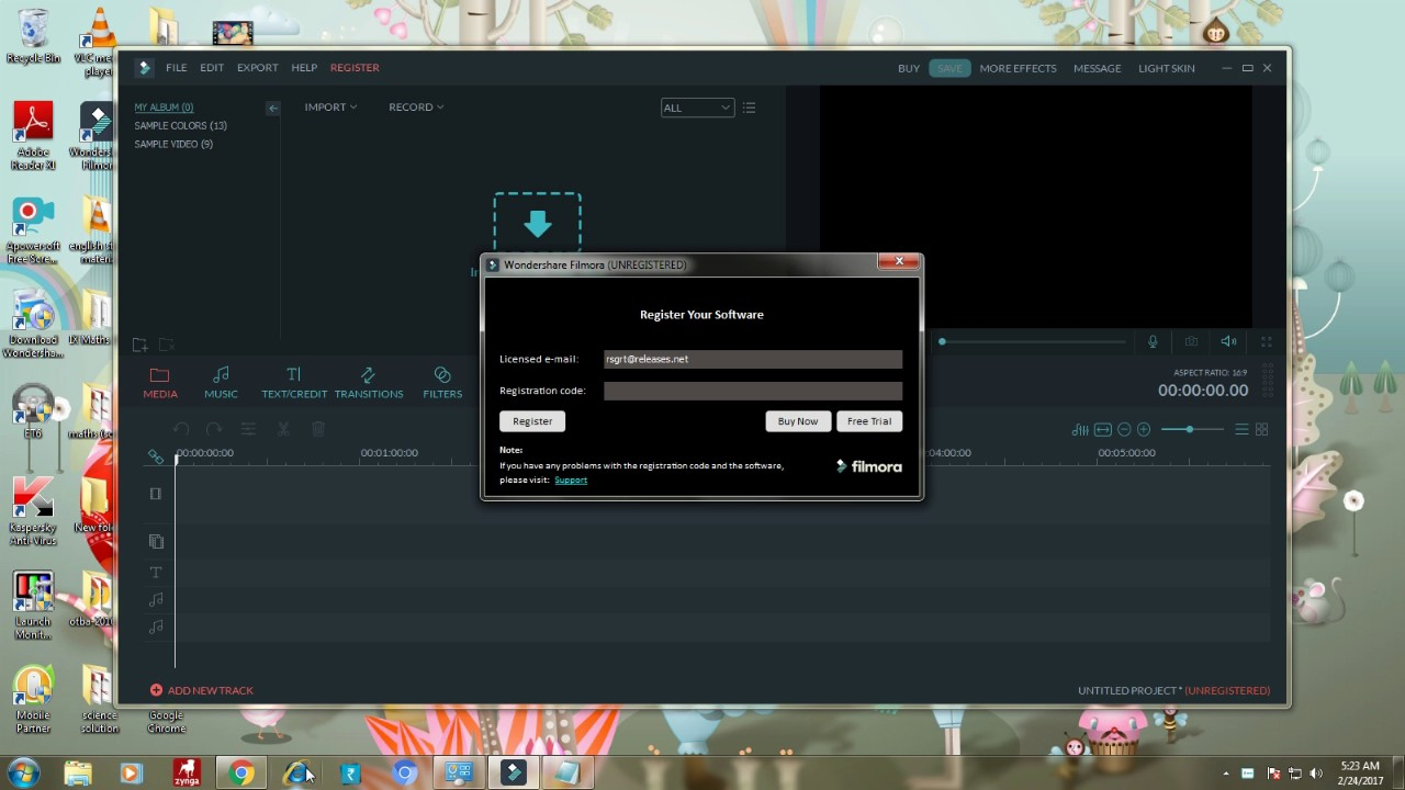 how to get wondershare filmora 8.0 full version for free 2017