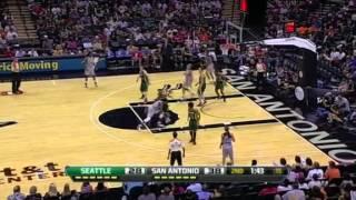 WNBA 2012 Highlights: San Antonio Silver Stars - Seattle Storm