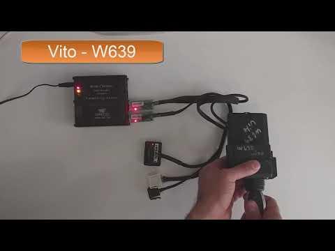 MK3 Mercedes Benz ESL ELV Universal Steering Lock Emulator for Vito W639