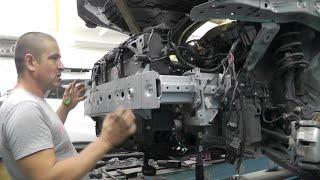 Mazda CX-5 Второе поколение. Сборка кассеты радиаторов и т.д.