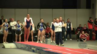 TAITE Yasmin (GBR) - 2015 Trampoline Worlds - Qualification TU Routine 1