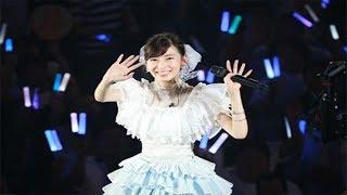 SKE48の大矢真那の卒業コンサートが24日、名古屋市の日本ガイシホールで行われた。1期生としてグループを支えてきた大矢は、ステージで「9年間...