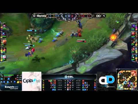 ESL South East Europe Championship League of Legends - Gplay.bg vs. Different Dimension