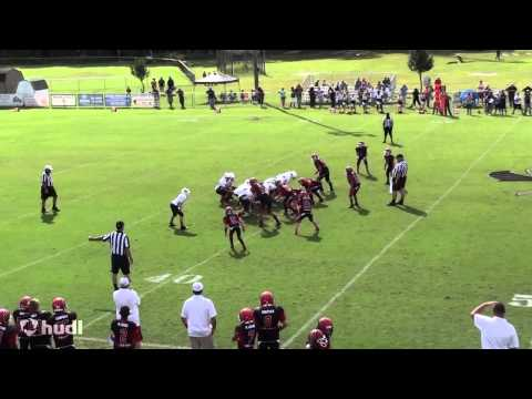 """12 Year Old Defensive End 2014 Season Highlights:  #44 Lawrence """"Tank"""" Porter"""