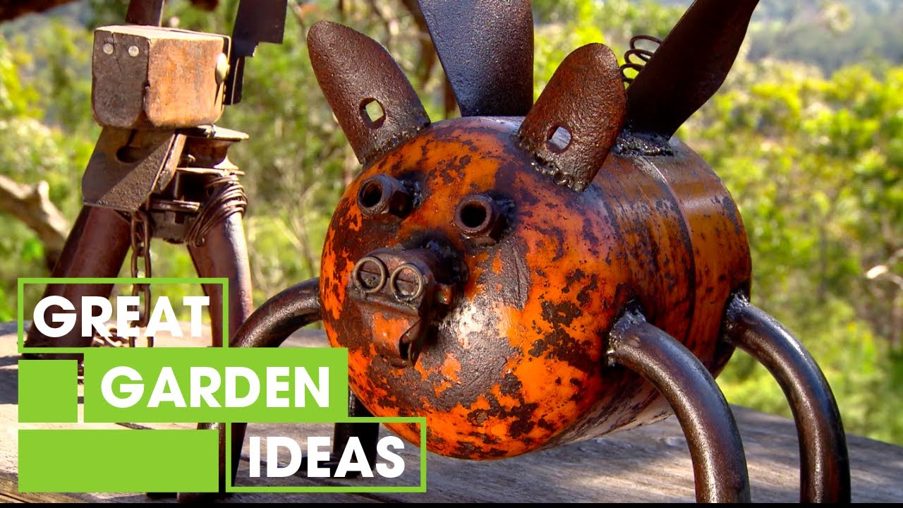 Attrayant Design Your Own Recycled Metal Garden Art | Gardening | Great Home Ideas