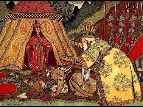 Сказка о Золотом Петушке, А.С.Пушкин, часть2