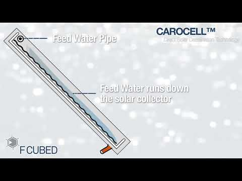 F Cubed Carocell Solar Water Purification