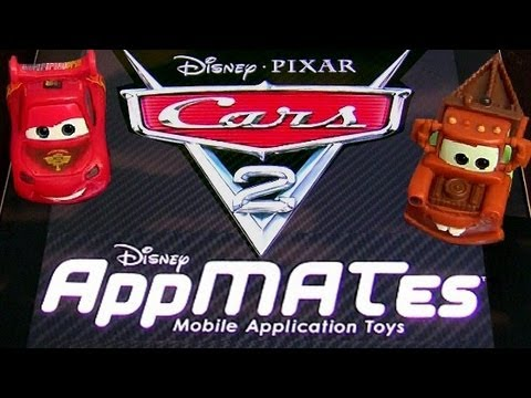 Cars 2 Appmates Disney App iTunes Winter Edition Review Ipad Application Toys how-to  Blucollection
