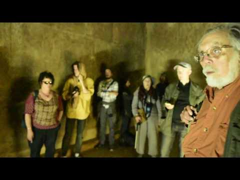 John Anthony West in the Necropolis of Dahshur - 2015