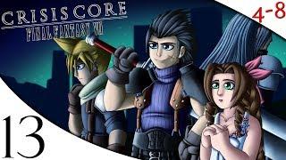 Let's Play Crisis Core: Final Fantasy VII (Part 13) [4-8Live]