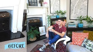 Living Room Makeover   Ad   Quick and Easy DIY tips to transform your space