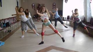 Lola( Angry Chicks Crew) Elephant Man - Swagga dancehall choreo ( workshops)
