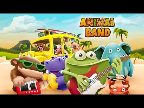 Animal Band ~ Music Time: Nursery rhymes and music