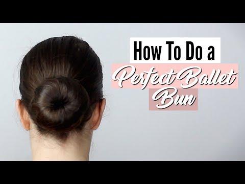 How To Do A Perfect Ballet Bun | Suffolk Dance