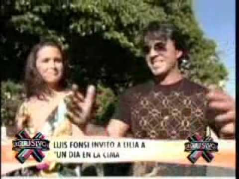 SuperXclusivo 11/12/09 - Videos de Luis Fonsi coqueteándole a Lilia Luciano 2/2
