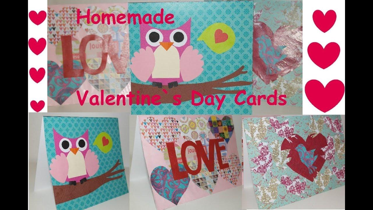 Valentinstag Karten Selber Machen!