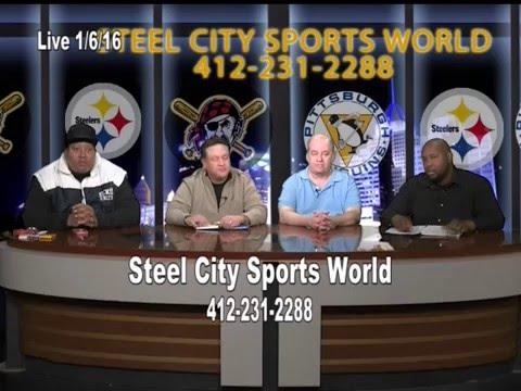 Steel City Sports World   NFL Playoffs   1 6 16