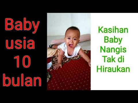 Kasihan..!! Bayi Usia 10 bulan Lagi Nangis tanpa di hiraukan