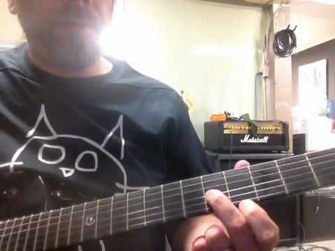 How to play Gotta Be Somebody by Nickelback on the guitar.