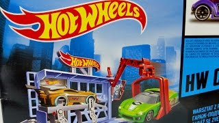 Hot Wheels Power Lift Garage With Hot Wheels Car ★ For Kids Worldwide