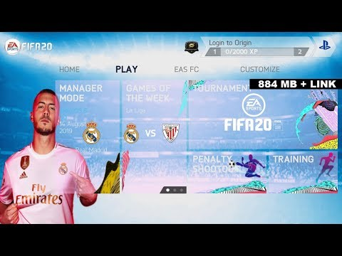 Game Android Offline FIFA 14 Mod FIFA 20 New UP 2020 Link + Cara Install - 동영상