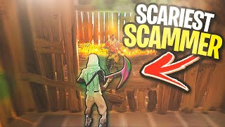 I was REALLY Scared trading with this guy... 😰😩 (Scammer Gets Scammed) In Fortnite Save The World