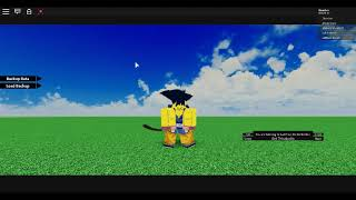 SSJ Corte Escena DBN (Roblox)