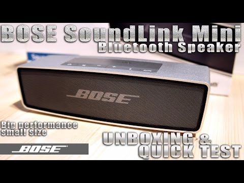 bose soundlink mini speaker replica unboxing doovi. Black Bedroom Furniture Sets. Home Design Ideas