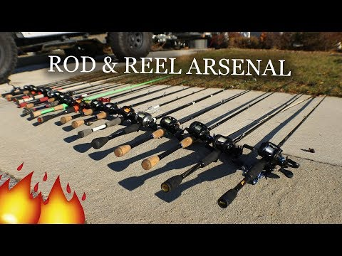 Rod & Reel ARSENAL **MUST SEE**