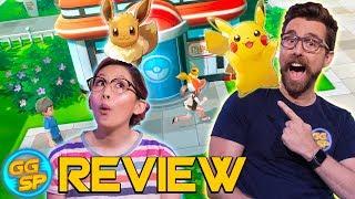 Pokémon Let's Go, Pikachu! / Pokémon Let's Go, Eevee!   Game Review