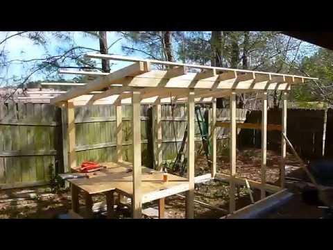 DIY chicken coop step by step