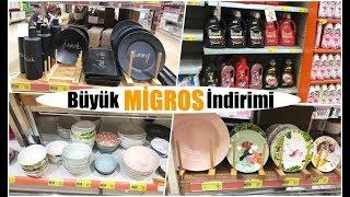 Migros'ta BÜYÜK İNDİRİM! KAÇIRMAYIN! ( Porselen, Deterjan, Temizlik Malzemeleri)