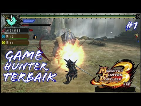 Game Tema Hunter Terbaik!  - Monster Hunter Portable 3rd  - Indonesia #1