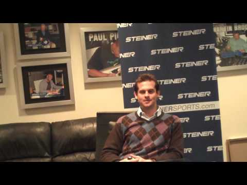 Aaron Boone Interview - Player Spotlight with Steiner Sports