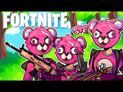 Spreading LOVE in SALTY SPRINGS in Fortnite: Battle Royale (Fortnite Funny Moments and Fails)