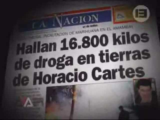Resultado de imagen de HORACIO CARTES DIRIGÍA UNA RED DE LAVADO DE DINERO SEGÚN WIKILEAKS