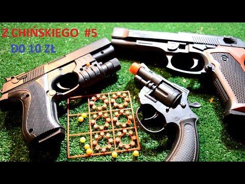 3 Pistolety z chińskiego do 10zł NA KULKI I KAPISZONY GADŻETY Z CHIŃSKIEGO #5