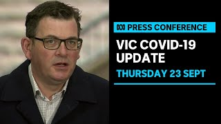 LIVE: Victorian officials provide a COVID-19 update | ABC News