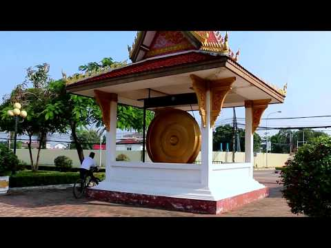 Patuxai Park in Vientiane, the Capital Lao PDR, Asian Travel and Tours