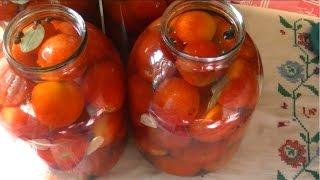 Квашеные помидоры,(Как бочковые). (barrel tomatoes)