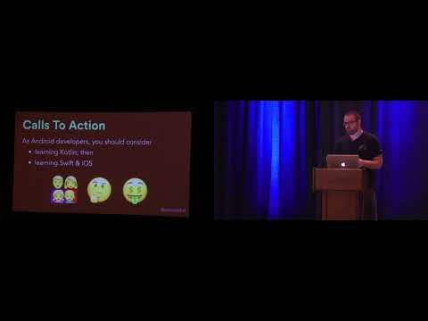 Kotlin & Swift: Convergent Evolution? - Stewart Kent - Android Summit 2017