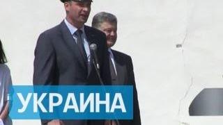 Порошенко, Яценюк и Аваков безудержно смеялись на выступлении Кличко