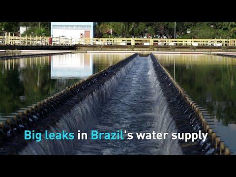 Big leaks in Brazil's water supply