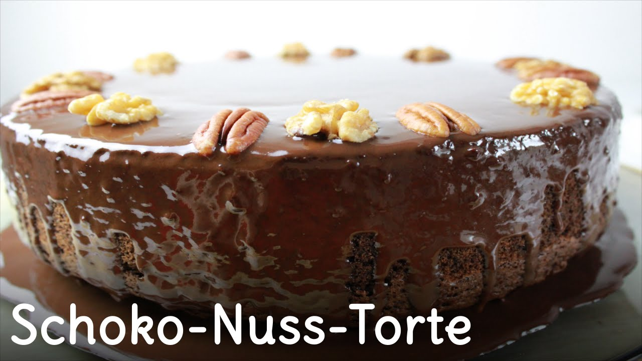 Rezept Schoko Nuss Torte Youtube