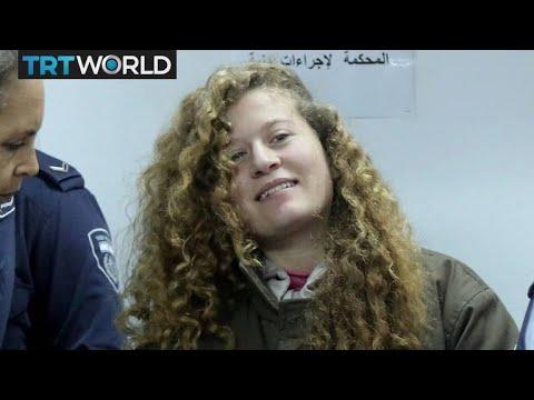 Palestinian Teen Trial: 17-year-old Ahed Tamimi's trial begins