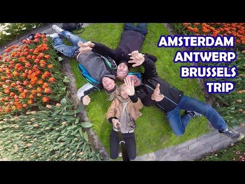 Amsterdam Antwerp Brussels weekend trip - Paliman adventures
